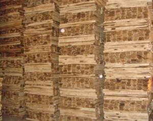 gỗ sau khi sơ chế